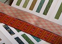 畳表の本縫い