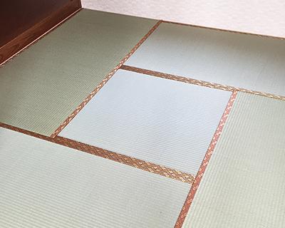 岩瀬畳店の畳替え
