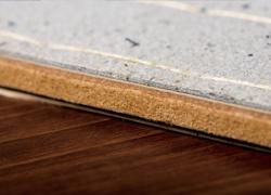 土台の芯材は、国産木質素材