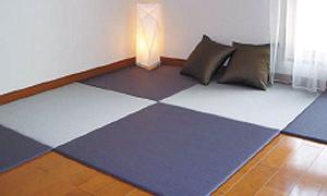 カラー樹脂素材の置き畳