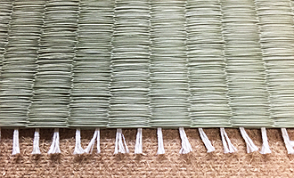 熊本産:綿たて糸表